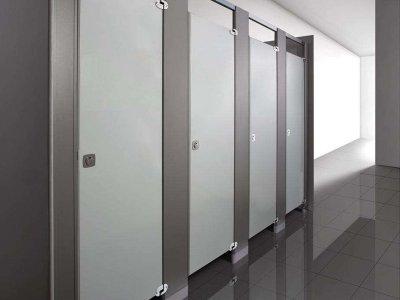 金属板卫生间隔断-YC112
