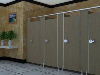 PVC卫生间隔断-YC112