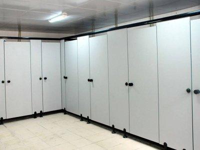 PVC卫生间隔断-YC119